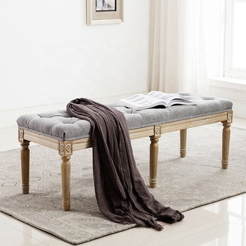 Peachy Low Price Comfortable Hotel Bedroom Furniture Bed End Upholstered Wood Bench Buy Wood Bench Upholstered Home Funiture Bench Seating Solid Wood Ocoug Best Dining Table And Chair Ideas Images Ocougorg