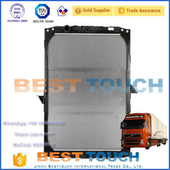 DAF 95 XF FAC 95 XF 480 AVA QUALITY COOLING DFA2004 truck radiator replacement
