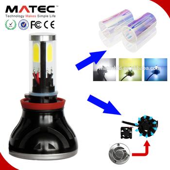 Top Car Spare Part Any Color Led Headlight Led Kit H7 H1 H3 H11 9005 9006  H4 12v 130w H7 Car Headlight Bulbs - Buy 12v 130w H7 Car Headlight
