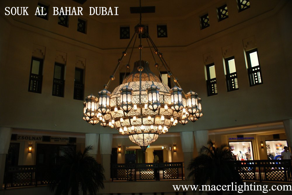 Arab Style Indoor Antique Copper Wall Lighting For Hotel ...