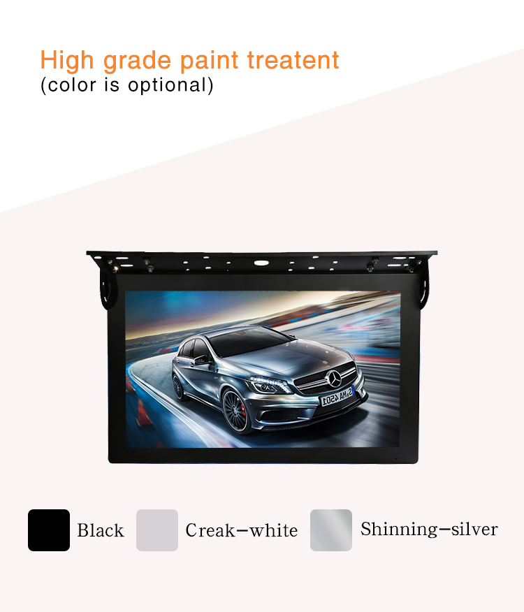 China  capacitive touch screen Android taxi headrest digital signage for advertising