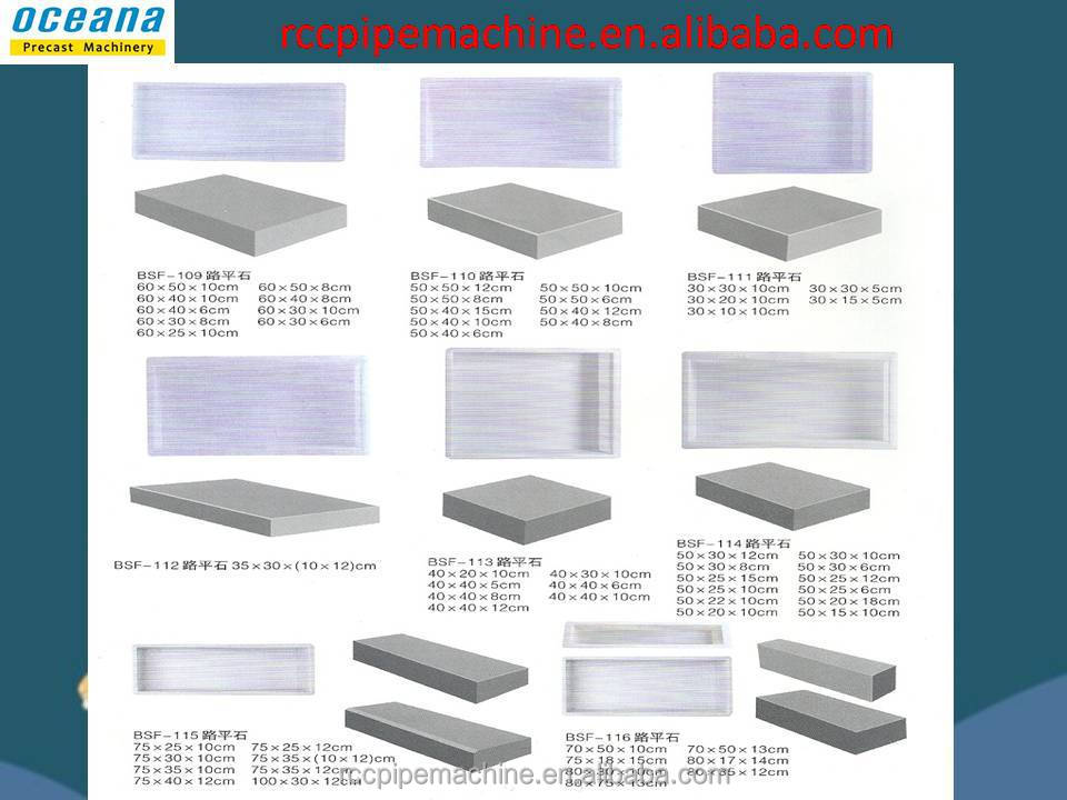 High Quality Concrete Plastic Mould For Bullnose Pavers