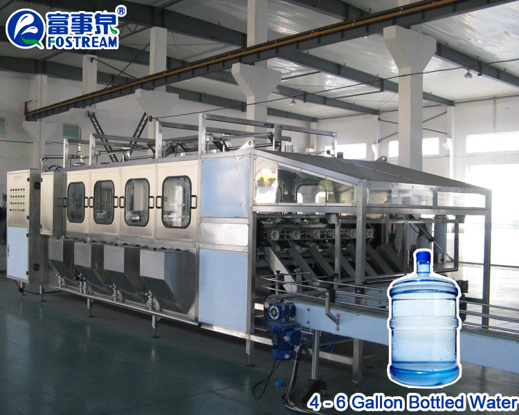 Automatic Plastic 5 Gallon Water Bottle Washing Filling Capping Machine / Big Bottle 5 Gallon Water Filling And Capping Machine