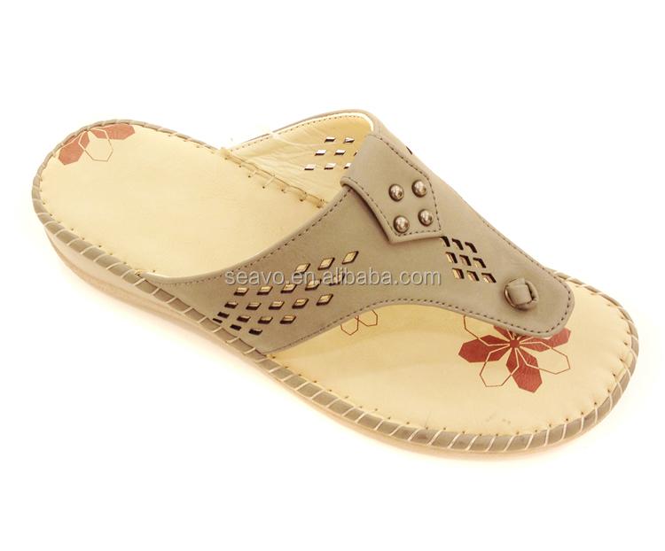 Seavo Ss17 New Design Ladies Fancy Sandal Fashion Slipper Summer ...
