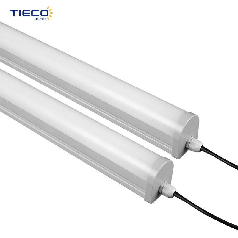 ip66 3000~6000k 40w 120cm vapor tri proof light