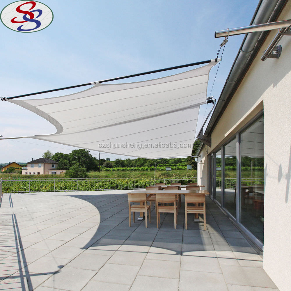gazebo collapsible stripe shade sail