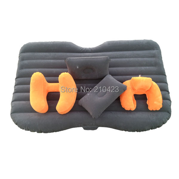 Inflatable car bed for back seat car bed mattress car inflatable bed Car inflatable travel bed free shipping