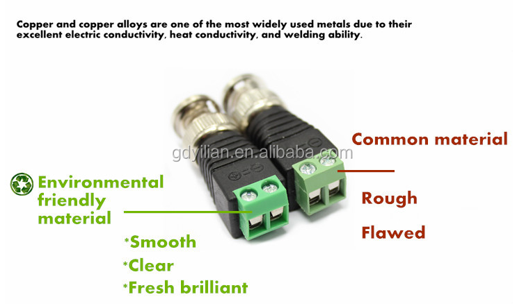 Male Female 2.1x5.5mm DC Power Plug Jack Adapter Wire Connector for CCTV
