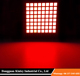 "2.3"" square dots red color 8 x 8 LED Dot Matrix LED Display 60x60mm"