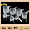 FDA grade clear colorplastic measuring spoon scoops in bulk