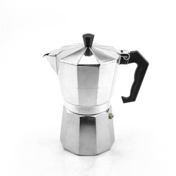 Hot sale 9 cups Stovetop Espresso Coffee Maker Italian Style Aluminum Coffee Maker