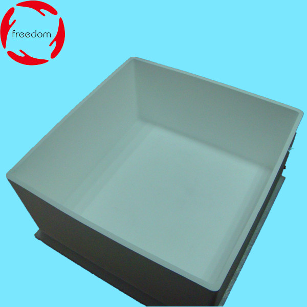 Fused Silica Quartz Ceramic Crucible