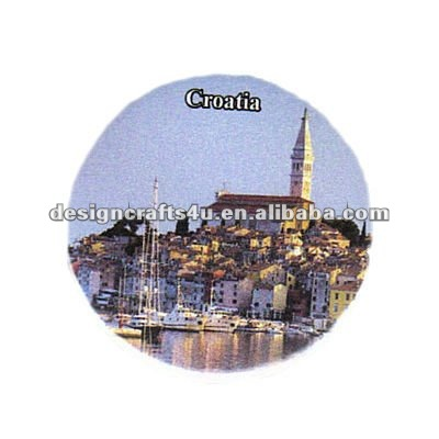 Polyresin Croatia Souvenir Fridge Magnet