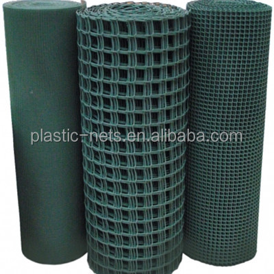 Animal and pet control plastic Hdpe extruded hard plastic garden trellis fencing Mesh net fence