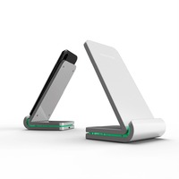 2019 New Arrive High Quality Fast Charging Stand Passed KC Certificate 7.5W/ 10W Quick Wireless Charger BSCI Factory
