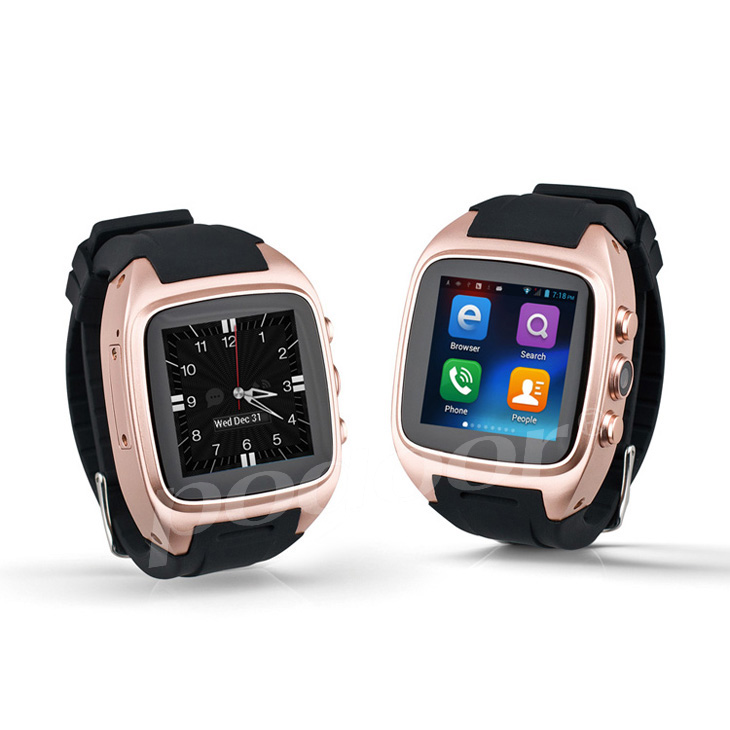 Christmas promote smart watch phone Bluetooth Android waterproof touch screen.