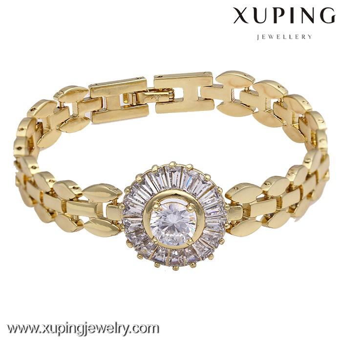 73603 xuping vietnam 14 k or plaqué cuivre or modèle bracelet, vietnam or  bijoux