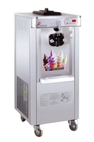 Stainless Steel Ice Cream Machine with Single Cone made in china guangzhou manufacturer
