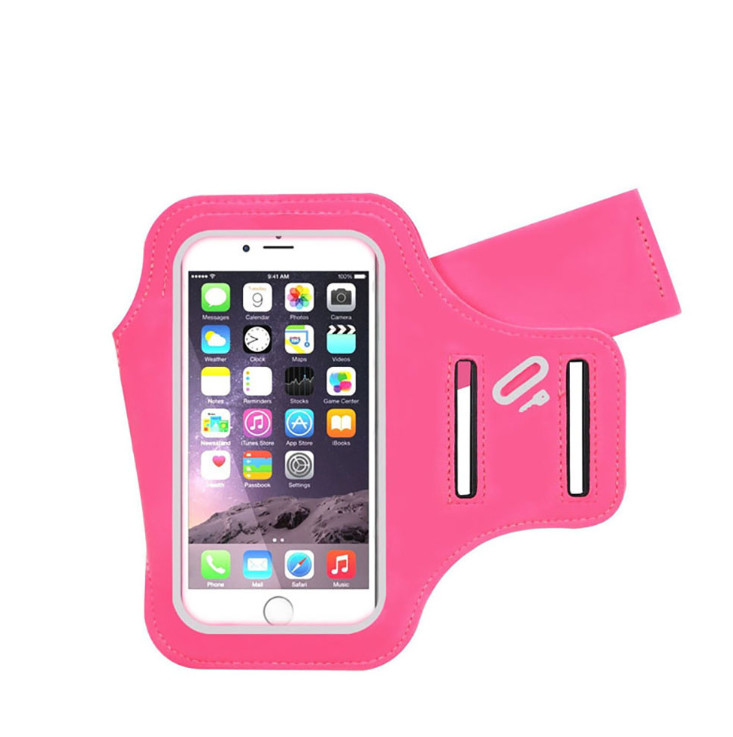 Bulk Products Waterproof Fitness Cellphone Armband for iPhone 7