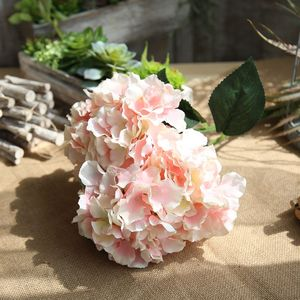 Hydrangea artificial flower silk flowers wedding import china silk flowers