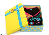 custom rigid paper gift boxes with ribbon,paper gift packaging