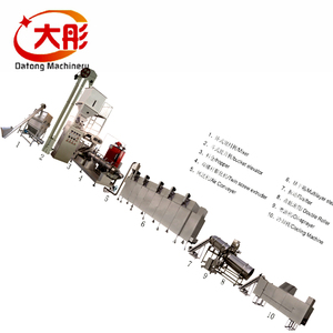 Dry Pet food pellet processing extruder