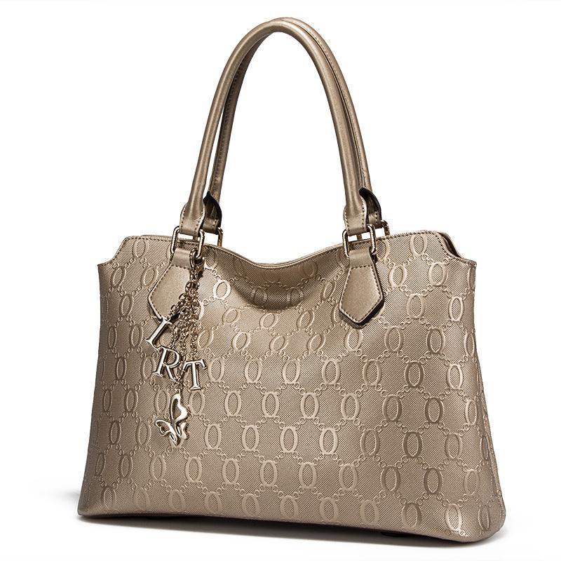 Handbag Men Polo Leather Briefcase Famous Brand Men's Business Bag ...