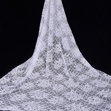 Hot selling 35% Nylon + 65% Katoen afrikaanse guipure <span class=keywords><strong>kant</strong></span> stof <span class=keywords><strong>kant</strong></span> katoen stof lace bridal