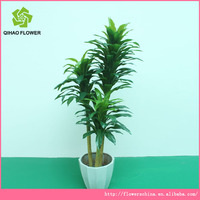 Garden palm trees for sale three branch artificial plants tree