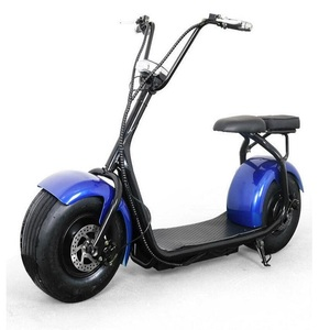 2019 China new model scoter electric scooter 1500w shock absorber motorcycle 60v off road electric bike kit