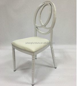 Wholesale wedding banquet chairs aluminum/steel phoenix chair with cushion