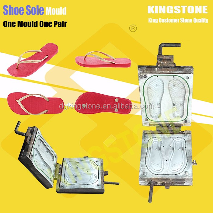 KINGSTONE One Color PVC PCU Slipper Air Blowing Injection Mould