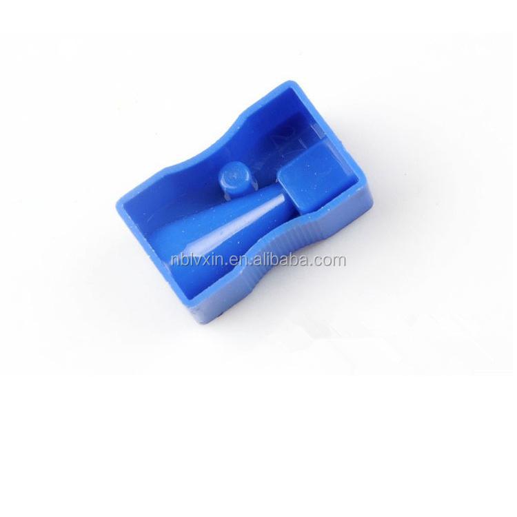 School Smart Hand Held Plastic Pencil Sharpener