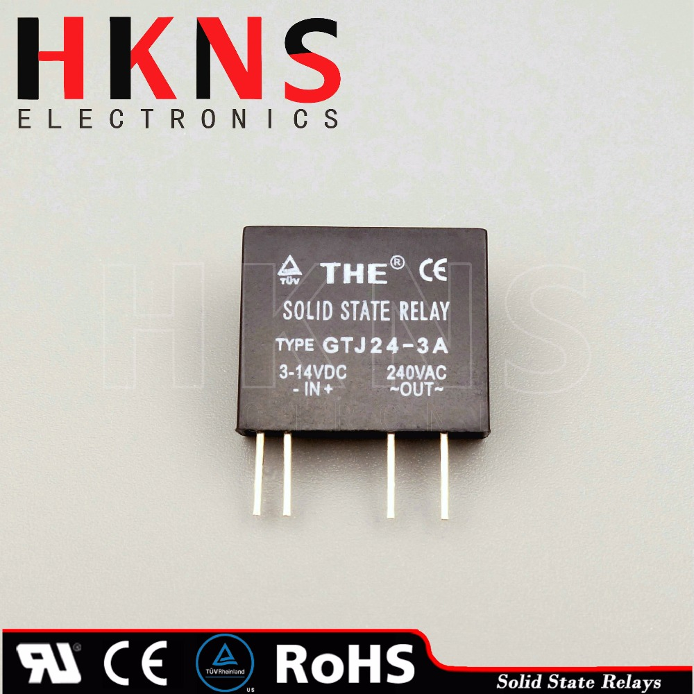 Mini Solid State Relay Ssr Dc To Ac 3a pcb Type Crydom Ssr Ul Tuv