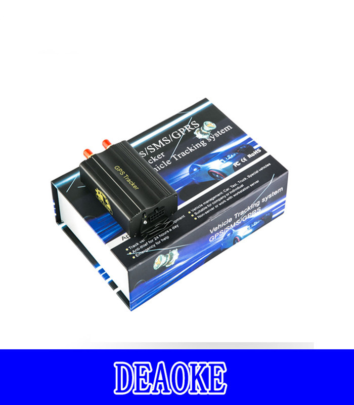 Vehicle Electronics & GPS Genuine New GPS/SMS/GPRS Tracker TK103B