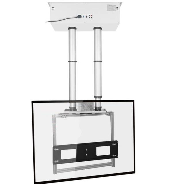 letuo motorized tv lift 180 degrees swivel tv wall mount tv ceiling mount