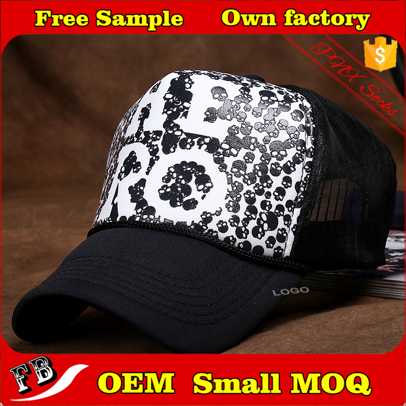 Custom logo printing hip hop caps wholesale cheap hats