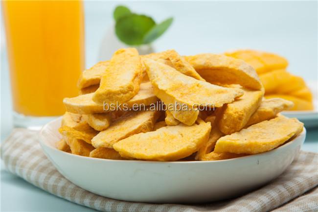 Freeze Dried Fruit Dried Mango Snack