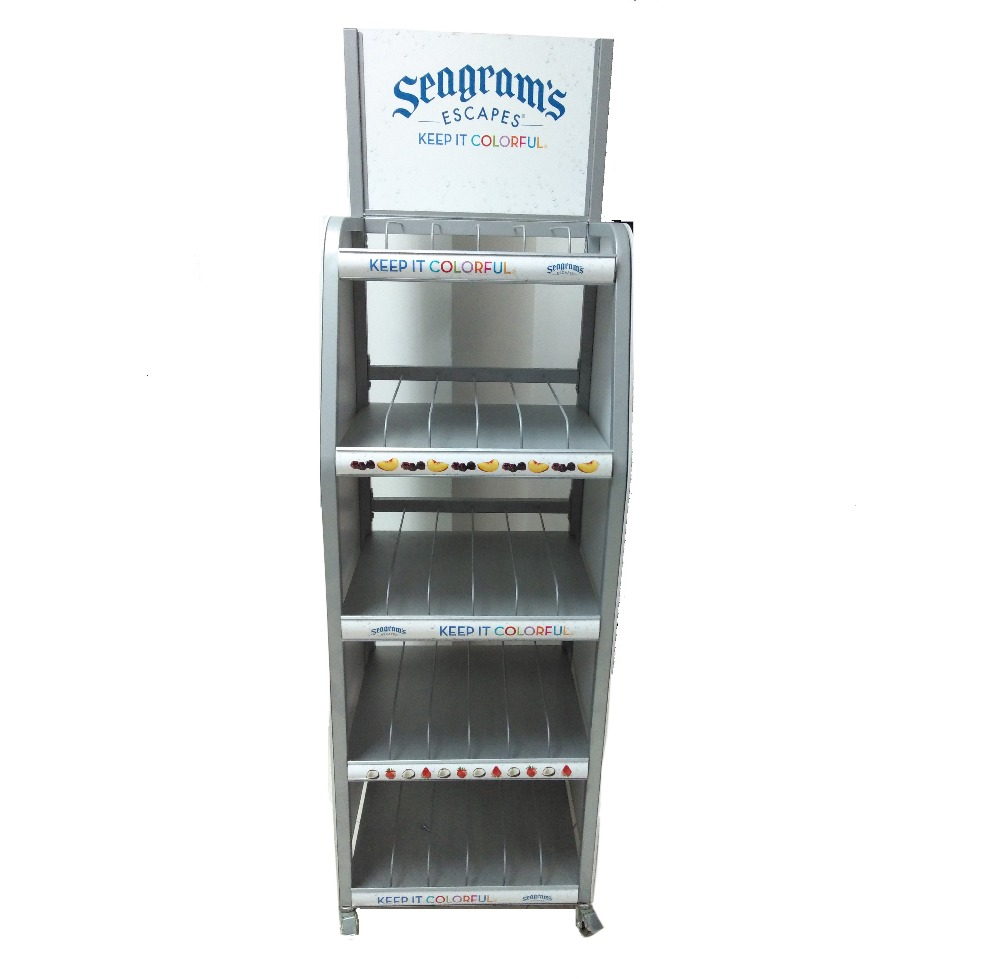 Display Stands For Bottles Pvc Wire Water Bottles Display Rack ...