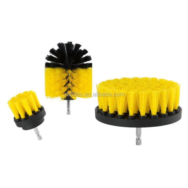 Powered scrubber trapano nylon brush cleaner kit/Lucidatura di Pulizia Trapano spazzola per Trapano