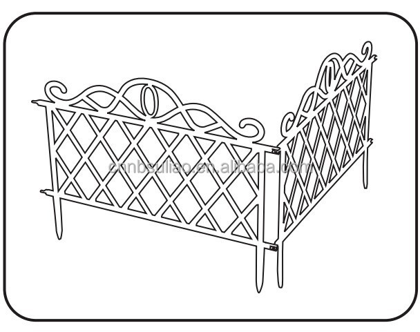 Plastic Garden Border Fence Edging Fencing Buy Plastic Garden