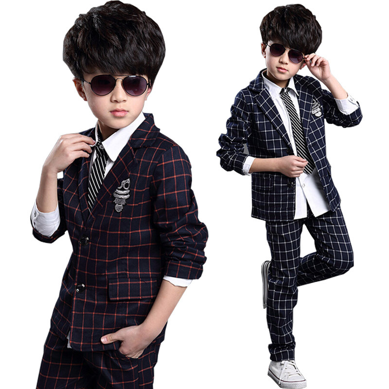 Buy Boys Casual Tailored Suit Kid Formal Suits Teen Boy Blazer Suit