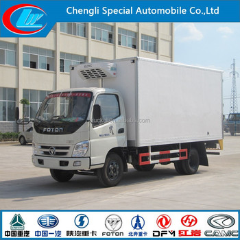 Factory Direct Selling Live Fish Transport Truck Refrigerated Freezer Truck  Good Price Refrigerated Van Truck - Buy Live Fish Transport