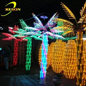 Alibaba Express Color Changing Leave Led Palm Tree Neon Light