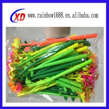 Silicone ballpen, promotional pen,silicone flower pens