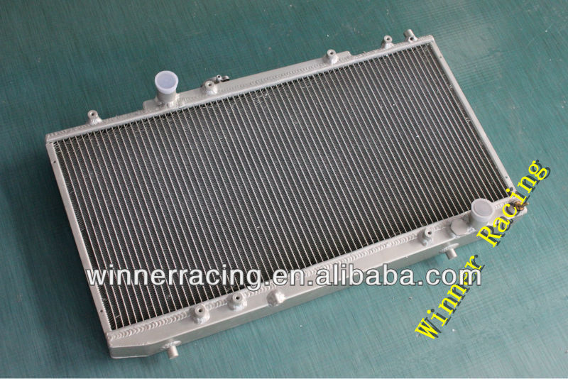 Hi-perf.aluminum alloy radiator for Toyota Celica GT-4/FOUR ST185 3S-GTE TURBO ALL-TRAC 1989-1992