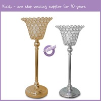 #k9951China supplier good quality Crystal wedding decoration candle holder stand