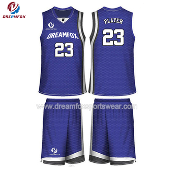 Breathable Sublimation Custom Basketball Jersey Philippines