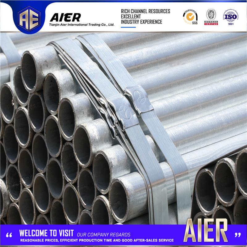 Multifunctional liquid pipeline best selling galvanized steel pipes with great price