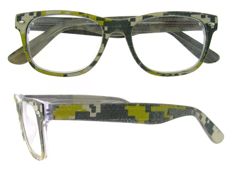 Latest Acetate Eyewear Optical Frame Jean Style Material ...